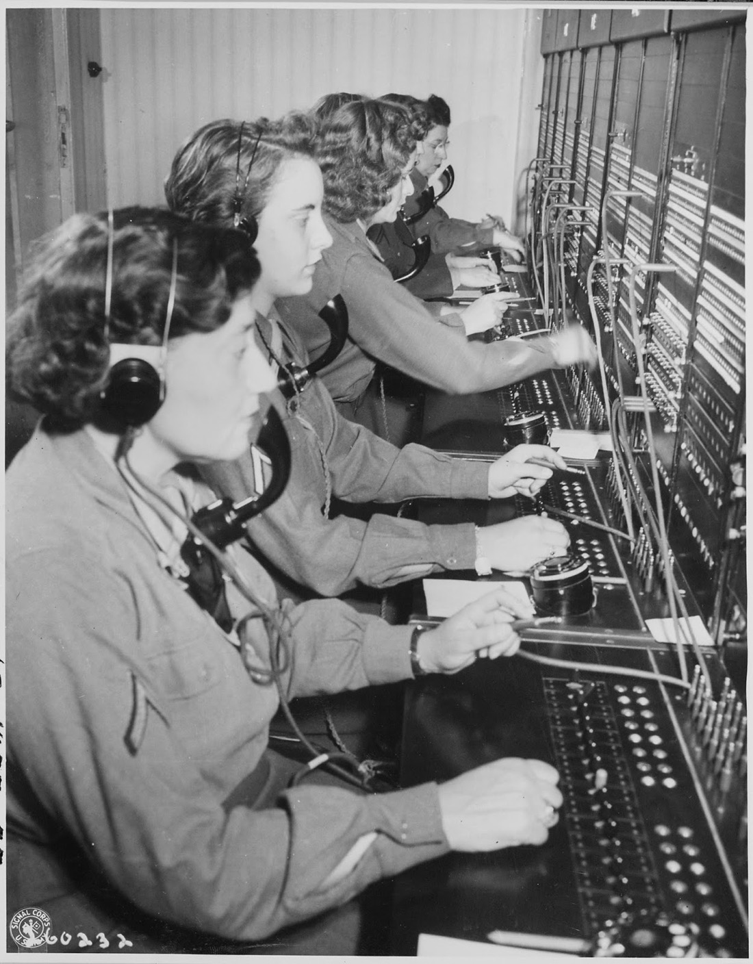 Telephone Switchboard Operators in the Past  27